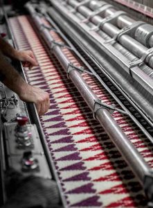Whilst The Carpets Could Be As Long They Wished Width Of Their Rugs Never Exceed Eight Foot Standard Size Loom